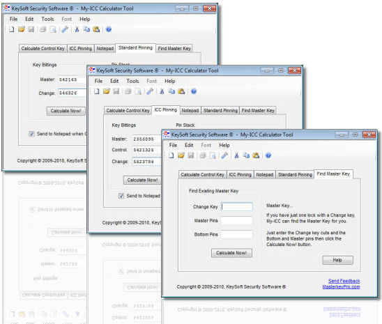 Master Keying Software from KeySoft Security Software (R)